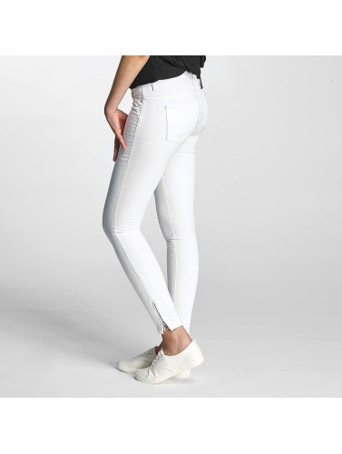 Only Damen Skinny Jeans onlKendell Regular Ankle in weiß