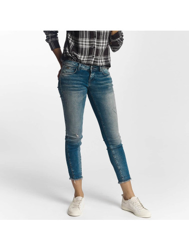 Only Damen Slim Fit Jeans onlCoral in blau