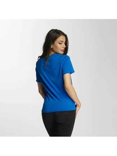 Only Damen T-Shirt onlSassy Knot in blau