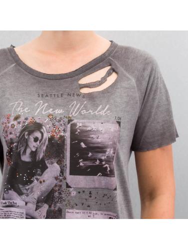Only Damen T-Shirt onlLive in grau