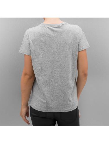 Only Damen T-Shirt onlDana Leo in grau