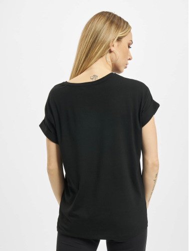 Only Damen T-Shirt onlMoster in schwarz