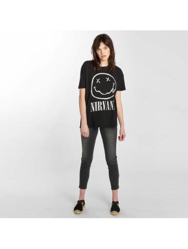 Only Damen T-Shirt onlNirvana in schwarz