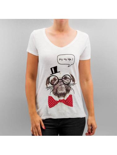 Only Damen T-Shirt onlBone in weiß