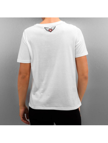 Only Damen T-Shirt onlRocking in weiß