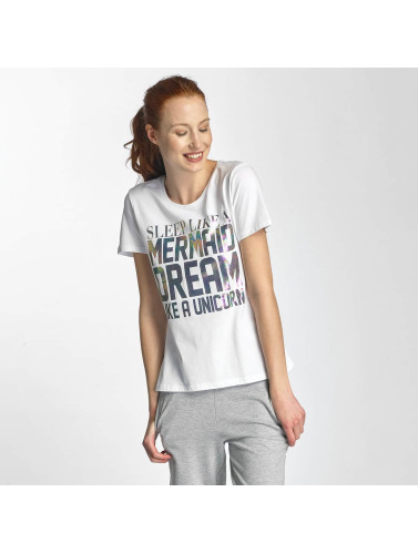 Only Damen T-Shirt onlCoffe in weiß