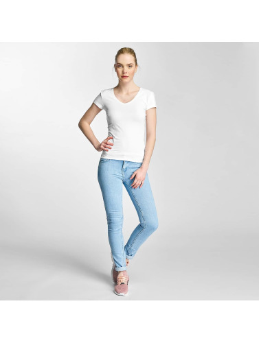 Only Damen T-Shirt onlLive Love in weiß