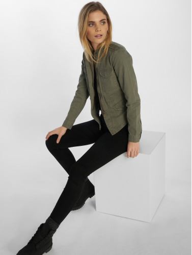 Only Ladies Transition Jacket Onlaustin In Olive