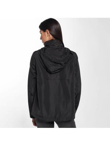 Only Damen Übergangsjacke onlLina Nylon Parka in schwarz