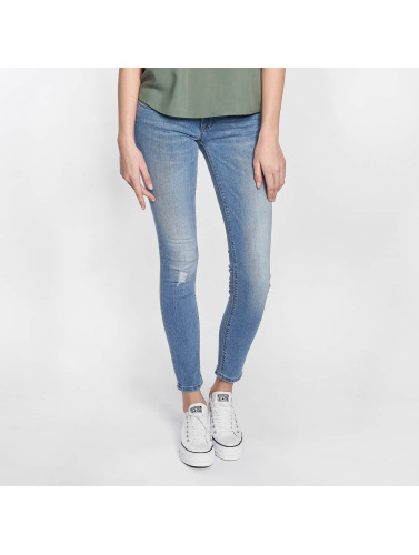Bare Kvinner Skinny Jeans I Blå Onlcoral Superlow Slitesterk VJwbwxi8