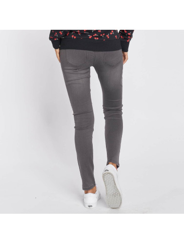 Only Mujeres Vaqueros pitillos onsUltimate Soft in gris