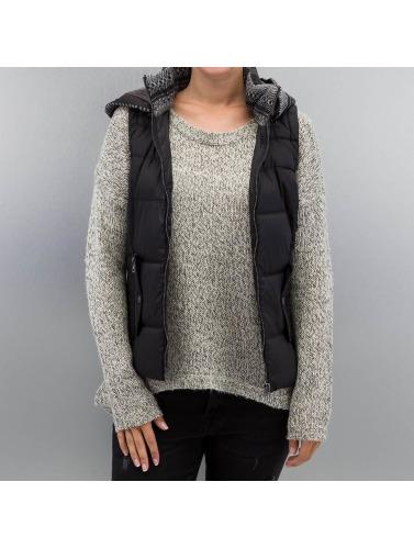 Only Damen Weste onlDakota Mix in schwarz Outlet Mode-Stil Online Shop Spielraum Sast Werksverkauf E6MGMcLT