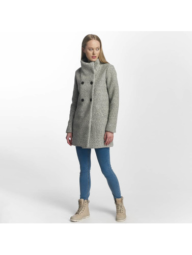 Only Damen Winterjacke onlAlly Sophia Wool in grau