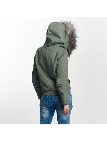 Only Damen Winterjacke onlNova in grün