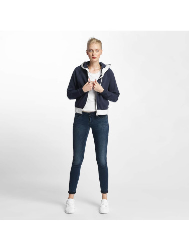 Only Damen Zip Hoodie onlJanna in blau