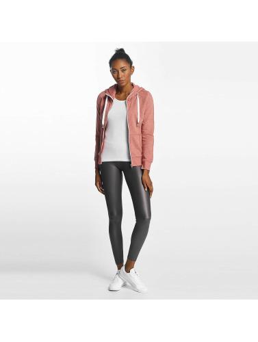 Only Damen Zip Hoodie onlCoolie in rosa