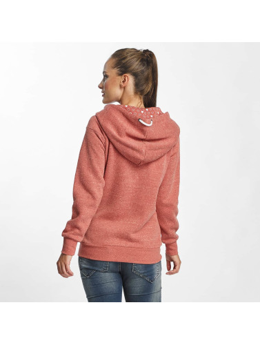 Only Damen Zip Hoodie onlLove in rot