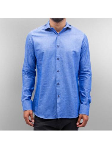 Open Herren Hemd Classic in blau
