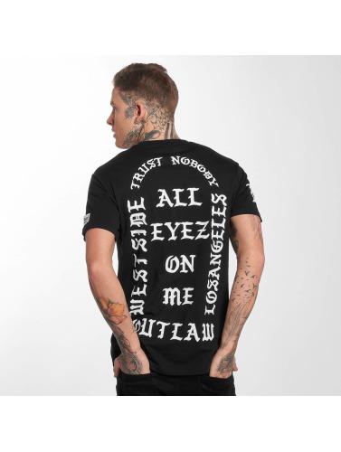 Outlaw Hombres Camiseta Outlaw Fredløs Hombres Camiseta Fredløs Trust Nobody In Negro Stole Ingen I Neger EastBay billig pris billig utrolig pris yj6AGdE