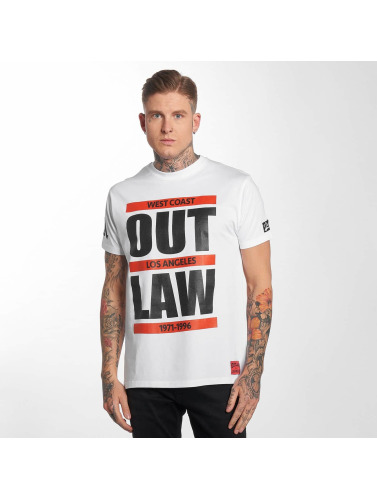 Outlaw Herren T-Shirt <small>    Outlaw   </small>   <br />    Run in weiß