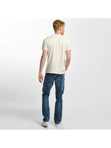 Oxbow Hombres Camiseta Tay in blanco
