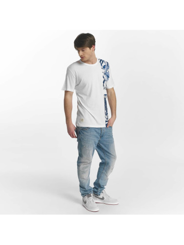 Oxbow Hombres Camiseta Tarago in blanco