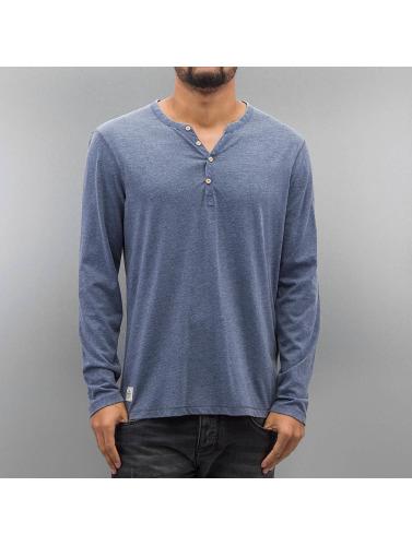 handle på nettet Oxbow Menn Langermet Skjorte Tabaia I Blått klaring geniue forhandler uo0F6Q20YP