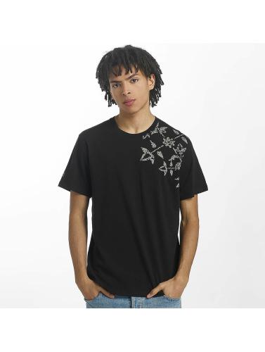 Oxbow Hombres Camiseta Terzo in negro