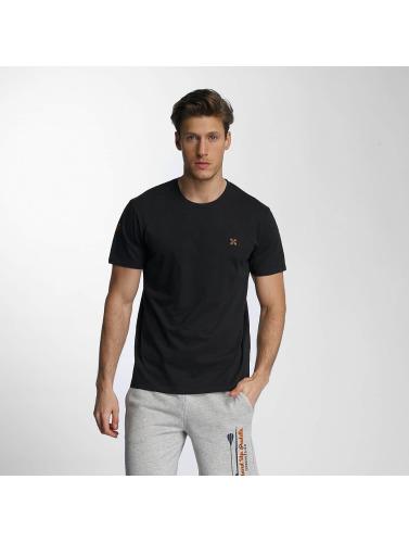 Oxbow Herren T-Shirt Stenec in schwarz