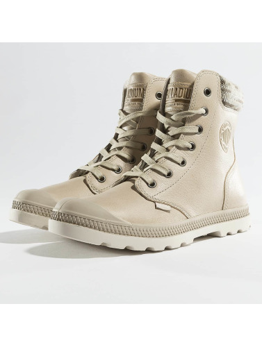 Palladium Mujeres Boots Pampa Hi Knit LP Boots in beis