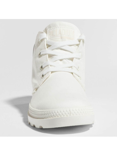 Palladium Mujeres Boots Pampa in blanco