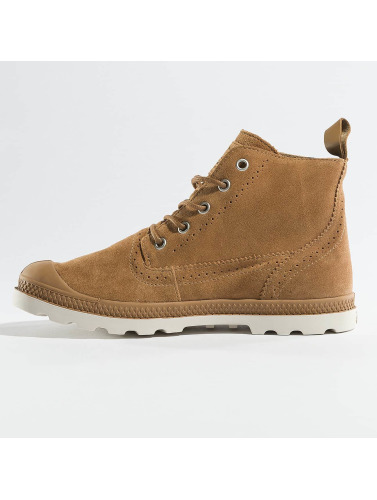 Palladium Damen Boots ampa LDN LP Mid Sue in braun