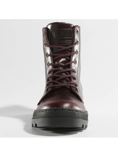 Palladium Damen Boots Pallabosse Off Lea in braun