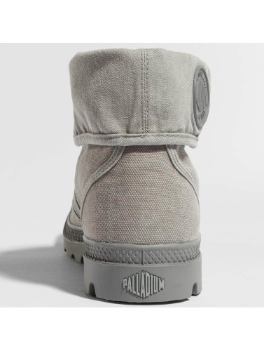 Palladium Hombres Boots Pallabrouse in gris