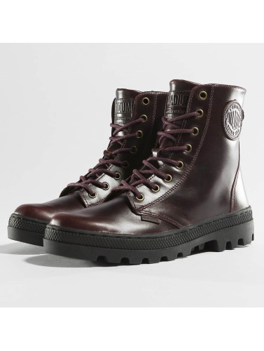 Palladium Mujeres Boots Pallabosse Off Lea in marrón