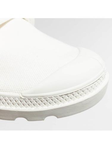 Palladium Damen Boots Pallabrouse in weiß
