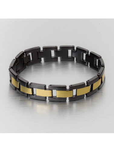 Paris Jewelry Armband Stainless Steel in schwarz