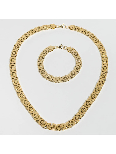 Paris Jewelry Kette Bracelet 22cm and Necklace 60cm in goldfarben