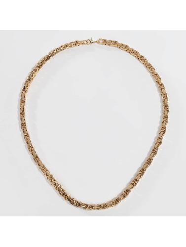 Paris Jewelry Kette Stainless Steel Bracelet & Necklace Set in goldfarben
