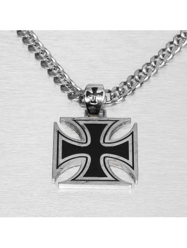 Paris Jewelry Kette Cross in silberfarben