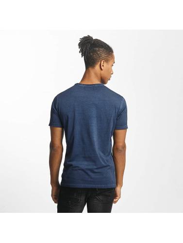 Paris Premium Hombres Camiseta Get on with it in azul