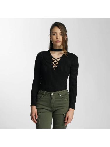 Paris Premium Mujeres Camiseta de manga larga Diana in negro