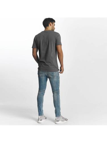 Paris Premium Hombres Camiseta Relax in gris