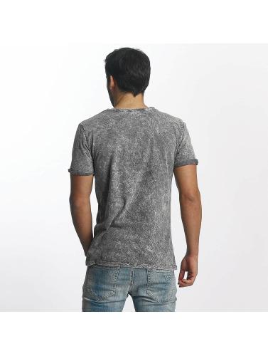 Paris Premium Hombres Camiseta <small>                 Paris Premium             </small>             <br />              T-Shirt in gris