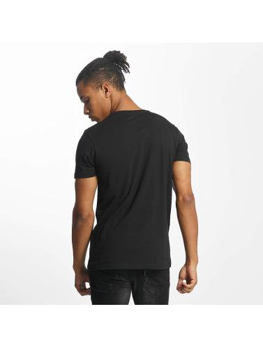 Paris Premium Hombres Camiseta Life is a Journey in negro