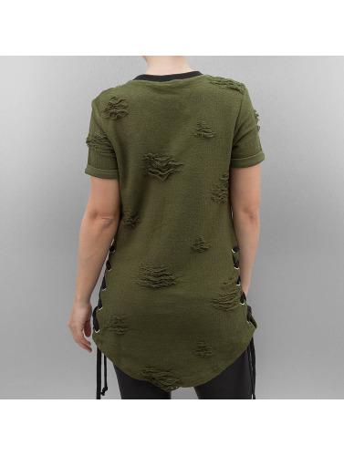 Paris Premium Camiseta Stockton in oliva