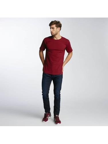 Paris Premium Hombres Camiseta Farm House in rojo