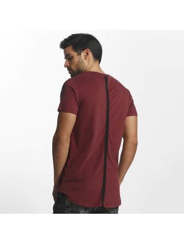 Paris Premium Hombres Camiseta Bar in rojo