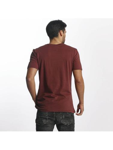 Paris Premium Hombres Camiseta Star Streak in rojo