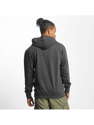 Paris Premium Herren Hoody Basic in grau